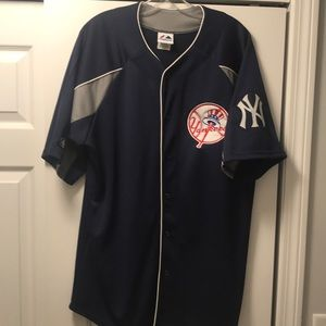 Majestic New York Yankees team jersey adult large